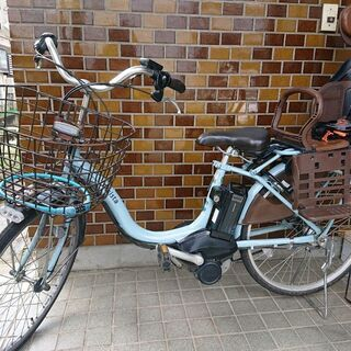 BRIDGESTONE 電動自転車 チャイルドシート付き …