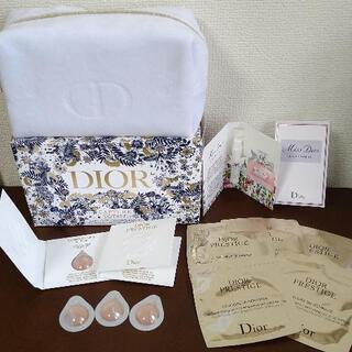 【新品・未使用】Diorポーチ、試供品まとめ売り