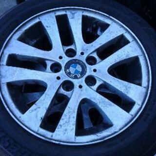 BMW純正16インチアルミホイール BSタイヤ付き