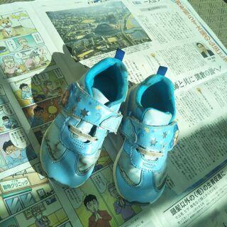 ●アナ雪 光る靴 18cm