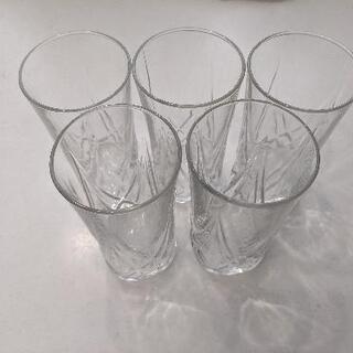 ガラス コップ 5脚組