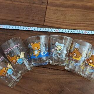 リラックマ ガラス コップ 6つセット