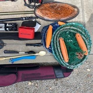 ガイドなしロッドなど釣り道具一式※可能であればまとめて引き取って...