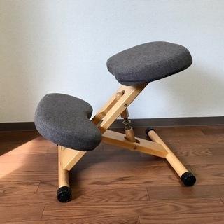 【天然木】バランスチェア・学習椅子