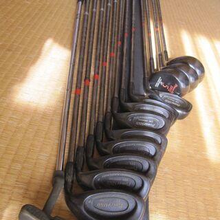 ゴルフクラブ13本セット POWER BILT製 TPSシ…