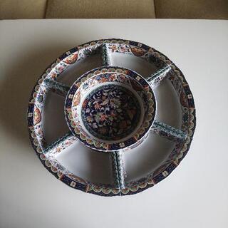 回転 盛り皿