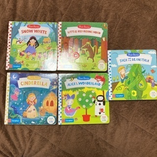 英語の童謡しかけ絵本 5冊