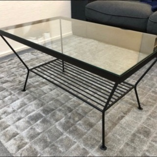 ウニコ ガラステーブル