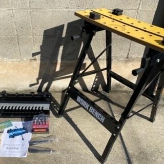 DIY 未使用お買い得セット ワークベンチ+ジグソーセット…