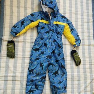 スキーウエア 手袋セット 男の子 120cm