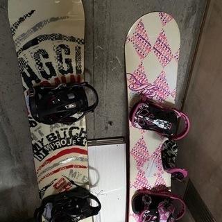 スノーボードの板!