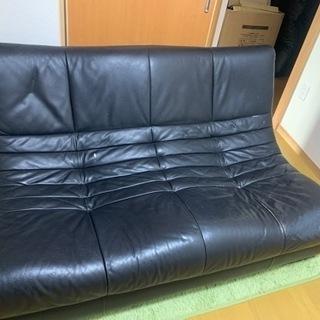 ソファー 黒
