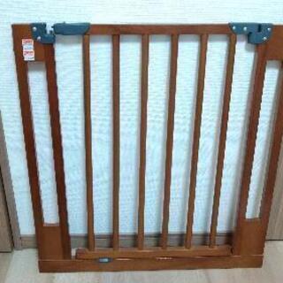 WOOD GATE 拡張フレーム付き 木製ベビーゲート