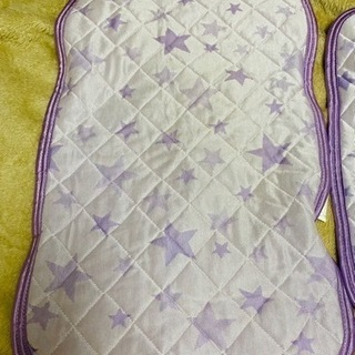しまむら 星柄 枕カバー 2枚