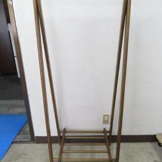 取引場所 南観音 A 2110-406 衣類収納 木製 ハンガー...
