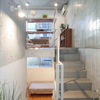ёデザイナーズ 立体的に暮らす 床暖房を完備。メゾネット