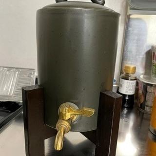 焼酎サーバー 差し上げます。