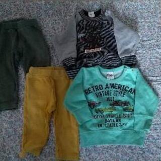 (お話し合い中)秋冬 ベビー服 サイズ80
