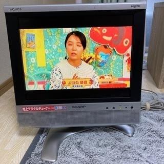 【ネット決済・配送可】シャープ 13V型 液晶 テレビ AQUO...
