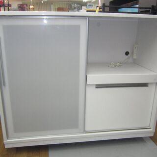 R305 NITORI キッチンカウンター、スライド扉、幅…