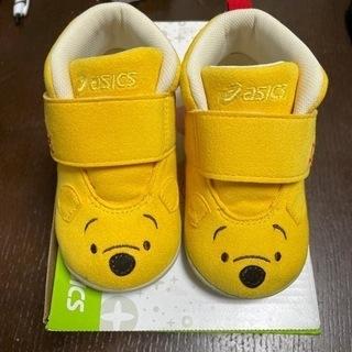 【ネット決済】ベビー靴 プーさん