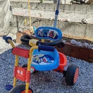 ミッキーマウス三輪車