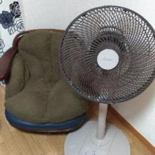 無料大至急!使用少ない三菱扇風機&椅子 2点
