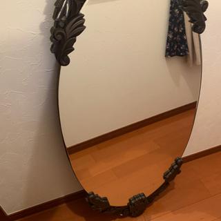 立てかけ鏡 【ビンテージ】