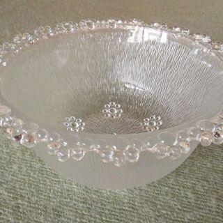 ◆未使用品 可愛いガラスの器◆