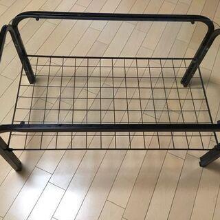 ローテーブル(ガラス天板)