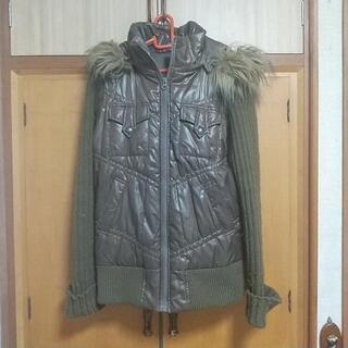 レディース冬のコート 茶色