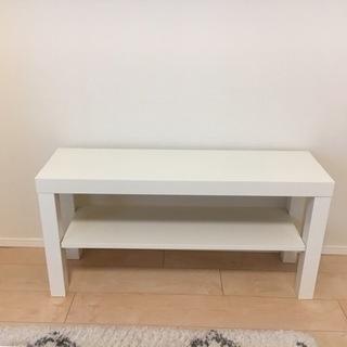 【無料】テレビ台 白 IKEA