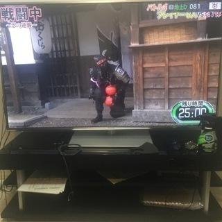 【ネット決済】テレビ55インチホームシアターラックセット