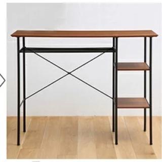 【ネット決済】カウンターテーブル スツール付き ウォールナット 木製