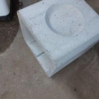 未使用  コンクリート製雨水枡 +蓋(平板)