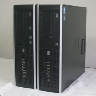 デスクトップPC 2台 HP Compaq Pro 6000 S...