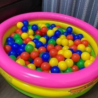 ボールプール用のカラーボール