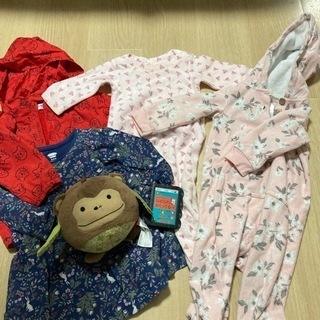 秋冬ベビー服70〜80サイズ おもちゃ