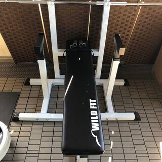 ワイルドフィット トレーニングベンチ セーフティースタンド
