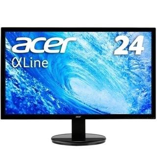 Acer モニター  AlphaLine 24インチ K2…