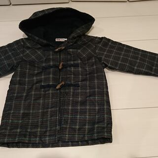 ベビー服 男の子 サイズ100長袖ダッフルコート風ジャンパー1点