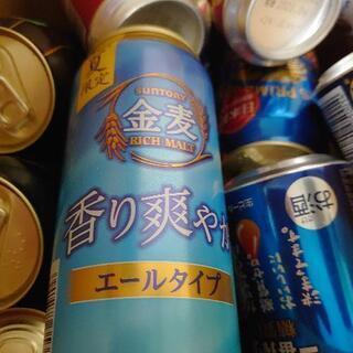 缶ビール500ml入り