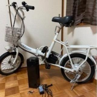 ☆アクセル付き折りたたみ電動自転車☆