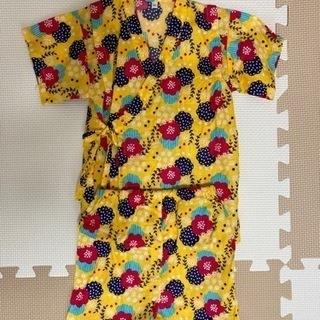 サイズ95cm 新品未使用 夏祭り キッズ浴衣(*˘︶˘*…