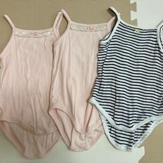 サイズ90cm 女の子 肌着 3枚セット (*˘︶˘*).…