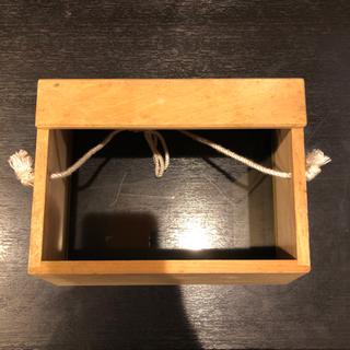水中箱メガネ 木製