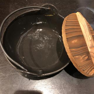 鉄器 いろり鍋 18cm 未使用品