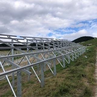 太陽光パネル設置の仕事になります。