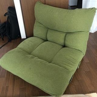 ニトリ 座椅子 緑