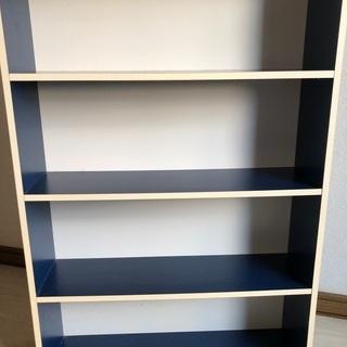 青い本棚差し上げます